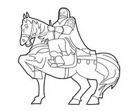 Genghis Khan. Illustrator design .eps 10 Royalty Free Illustration