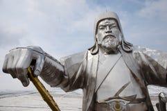 Genghis Khan - Mongoliet royaltyfria foton