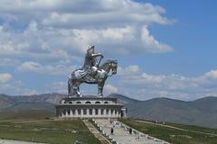 Genghis Khan Monument royalty-vrije stock fotografie