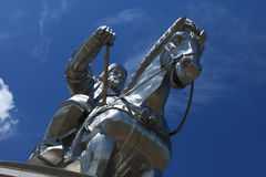 Genghis Khan Monument Royalty Free Stock Photo