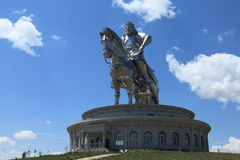 Genghis Khan Monument royalty free stock images