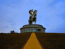Genghis Khan Museum Foto de Stock Royalty Free