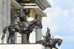 Genghis Khan National Museum Stock Images