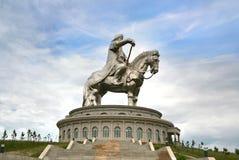 Genghis Khan Statue Complex at Tsonjin Boldogeast of the Mongolian capital Ulaanbaatar Royalty Free Stock Photo