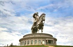 Genghis Khan Statue Complex at Tsonjin Boldogeast of the Mongolian capital Ulaanbaatar Royalty Free Stock Photos