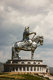 Genghis Khan. A statue of the famous Mongolian emperor, Genghis Khan Stock Photography