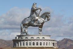 genghiskhan mongolia Royaltyfri Foto