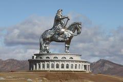 Genghiskhan, Mongolie Images libres de droits