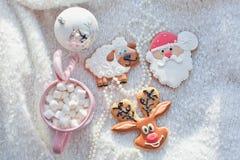 Gengibre das cookies Fotografia de Stock