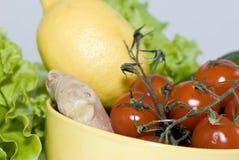 Gengibre, limão e vegetais Imagens de Stock Royalty Free