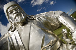 Gengis Khan Fotografia Stock Libera da Diritti