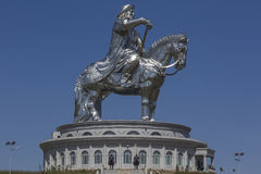 Gengis Khan monument Stock Image
