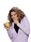 Gengivite da dor de dente do retrato da mulher, Imagens de Stock Royalty Free