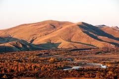 Genhe-Fluss-Sumpfgebiete Stockfotografie