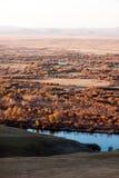 Genhe River Wetlands. The hulunbuir prairie river wetland of Genhe Stock Photography