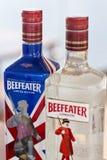Genièvre de Beefeater photo libre de droits