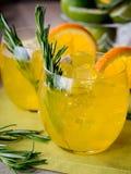 Genièvre et orange images stock