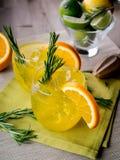 Genièvre et orange image stock