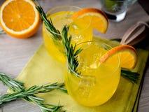 Genièvre et orange images libres de droits