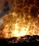 Genialni odbicia ogień obrazy stock