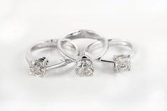 genialni pierścionek zaręczynowy Fotografia Stock