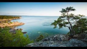Genialny widok nad jeziorem zbiory
