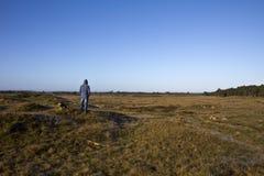 Genießen der Landschaft Stockfotos