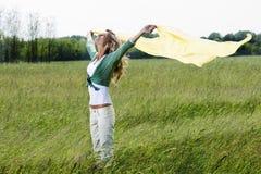 Genießen der Natur Lizenzfreies Stockfoto