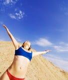 Genießen des Sommers Lizenzfreies Stockfoto