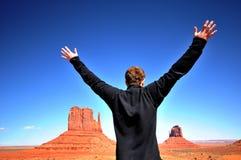 Genießen des Vista Lizenzfreies Stockfoto