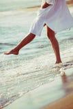 Genießen Sie im Meerwasser Lizenzfreies Stockbild