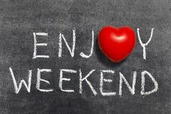 Genießen Sie Wochenende Lizenzfreie Stockbilder