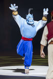 Genie in all blue Stock Images