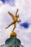 Genie Bastile Square Place de la Bastille Parigi Francia fotografia stock libera da diritti