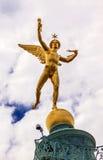Genie Bastile Square Place de la Bastille Parigi Francia immagine stock libera da diritti