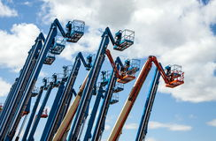 Genie Booms For Rent Royalty Free Stock Images