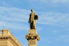Genie der Freiheitsstatue, im Stadtzentrum gelegenes Lancaster, PA stockbilder