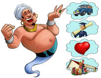 Genie desires Royalty Free Stock Images