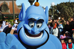 Genie in A Dream Come True Celebrate Parade Stock Photo