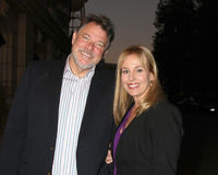 Genie Francis, Jonathan Frakes Royalty Free Stock Photos