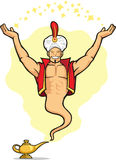 Genie Granting The Wish Stock Image