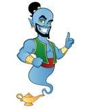 Genie. Illustration of a friendly genie vector illustration