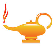 Genie lamp Stock Photos