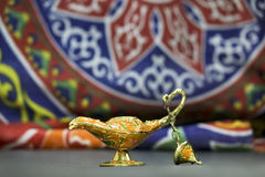 Genie Lamp Stock Photography