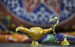 Genie Lamp Royalty Free Stock Photo