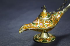 Genie Lamp Royalty Free Stock Photography