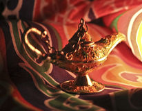 Genie Lamp Stock Photo