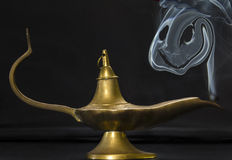 Genie Lamp fotografia stock libera da diritti