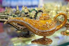 Genie lamp souvenir Stock Photo