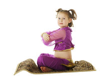Genie in for a Landing Royalty Free Stock Photos